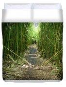 Exlporing Maui's Bamboo Duvet Cover