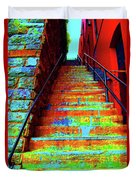 Exorcist Steps Duvet Cover