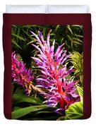 Exotic Flora Duvet Cover