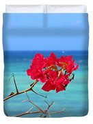 Exotic Flower Duvet Cover
