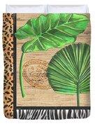 Exotic Palms 2 Duvet Cover