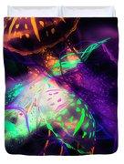 Exotic Rainbows Duvet Cover