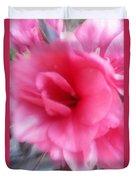 Exploding Pink Azaleas Duvet Cover