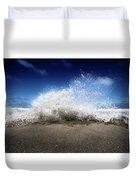 Exploding Seas Duvet Cover