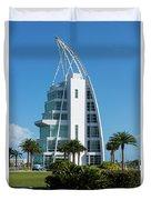 Exploration Tower Florida Duvet Cover