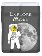 Explore The Universe Duvet Cover