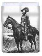 Explorer Juan Bautista De Anza Duvet Cover