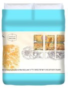 explorers First day cover Duvet Cover