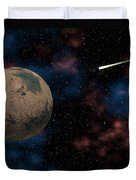 Exploring Planet Mars Duvet Cover