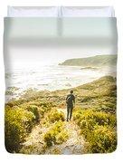Exploring The West Coast Of Tasmania Duvet Cover