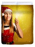 Explosive Christmas Gift Idea Duvet Cover