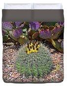 Expressionalism Budding Cactus Duvet Cover