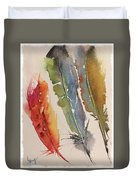 Feather Expressions Duvet Cover