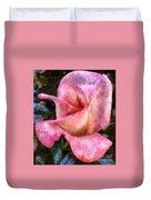 Exquisite Pink Duvet Cover