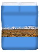 Extended Willow Flats Panorama Duvet Cover