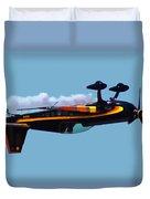 Extra 300s Stunt Plane Duvet Cover