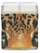 Jaguar Gaze Duvet Cover