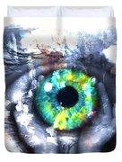 Eye In Hands 002 Duvet Cover