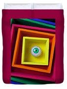Eye In The Box Duvet Cover