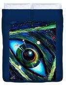 Eye Of Immortal Eternity. Timeless Space 2 Duvet Cover