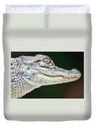 Eye Of The Alligator Duvet Cover