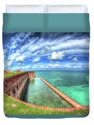 Eye Of The Fort Duvet Cover