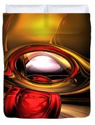 Eye Of The Gods Abstract Duvet Cover