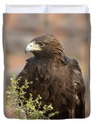 Eye Of The Golden Eagle Duvet Cover