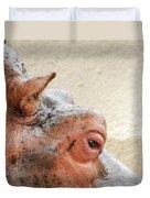 Eye Of The Hippo Duvet Cover