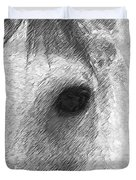 Eye Of The Horse Duvet Cover
