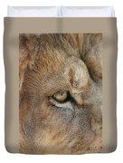 Eye Of The Lion #2 Duvet Cover
