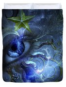 Eye Of The Witch Duvet Cover