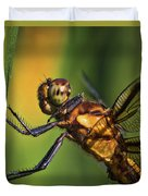Eye To Eye Dragonfly Duvet Cover