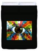 Eye To The Soul Duvet Cover