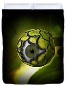 Eye Will See You In The Garden Duvet Cover