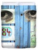 Eyes Door Duvet Cover