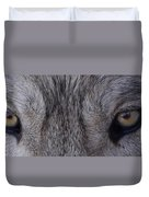 Eyes Of A Wolf Duvet Cover