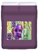 Eyes Of The Accusers Duvet Cover