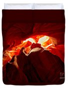 Eyes Of The Canyon Duvet Cover