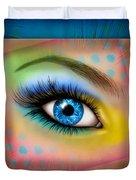 Eyetraction Duvet Cover