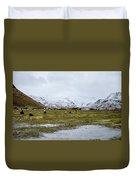 Eyjafjallajokull Iceland Duvet Cover