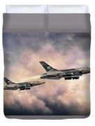 F-105 Thunderchief Duvet Cover