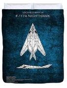 F-117 Nighthawk  Duvet Cover