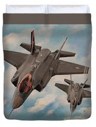 F-35's On Assignment  Duvet Cover