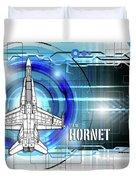 F/a-18 Hornet Duvet Cover