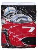 F1 Surtees Ferrari 1964 Duvet Cover