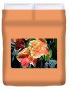 F24 Cannas Flower Duvet Cover