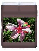 F5 Hibiscus Flower Hawaii Duvet Cover
