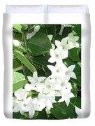 F7 Stephanotis  Flowers Duvet Cover