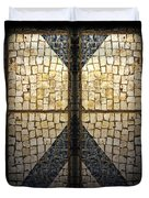 Faberge Sidewalk Duvet Cover